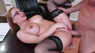 Sex after everyone has left the office
