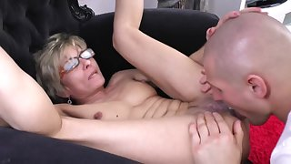 Loved Skinny 50+ Mature With Glasses - lisa sparxxx