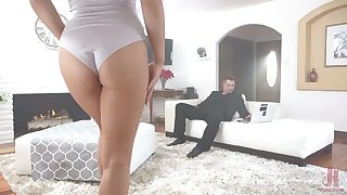 Luscious blonde with tatts Zoey Monroe is tied up and fucked by defamatory boyfriend