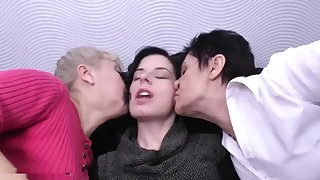 Granny mature and daughter lesbians