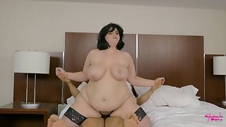 BBW mommy and hot blooded latina youngster