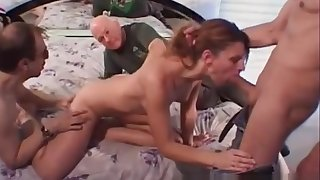 Why is Linda Roberts letting a stranger fuck her m