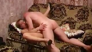 Hot Russian Mature Sofa Fuck Felicitous Young Man 259