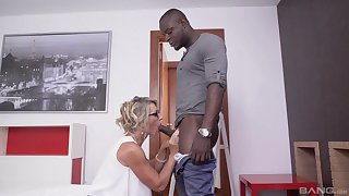 Black hunks fucks unavailable mature and cums in the first place her glasses