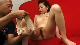 Petite Asian Japanese Granny Banged With Toys 6