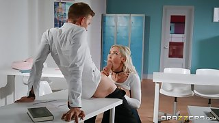 Lucky school Danny D fucked Amber Tire germane in the air the classroom