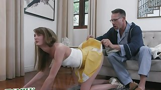 Young, fit nympho Zoe Sparx is preparing to help when her adoring friend calls up